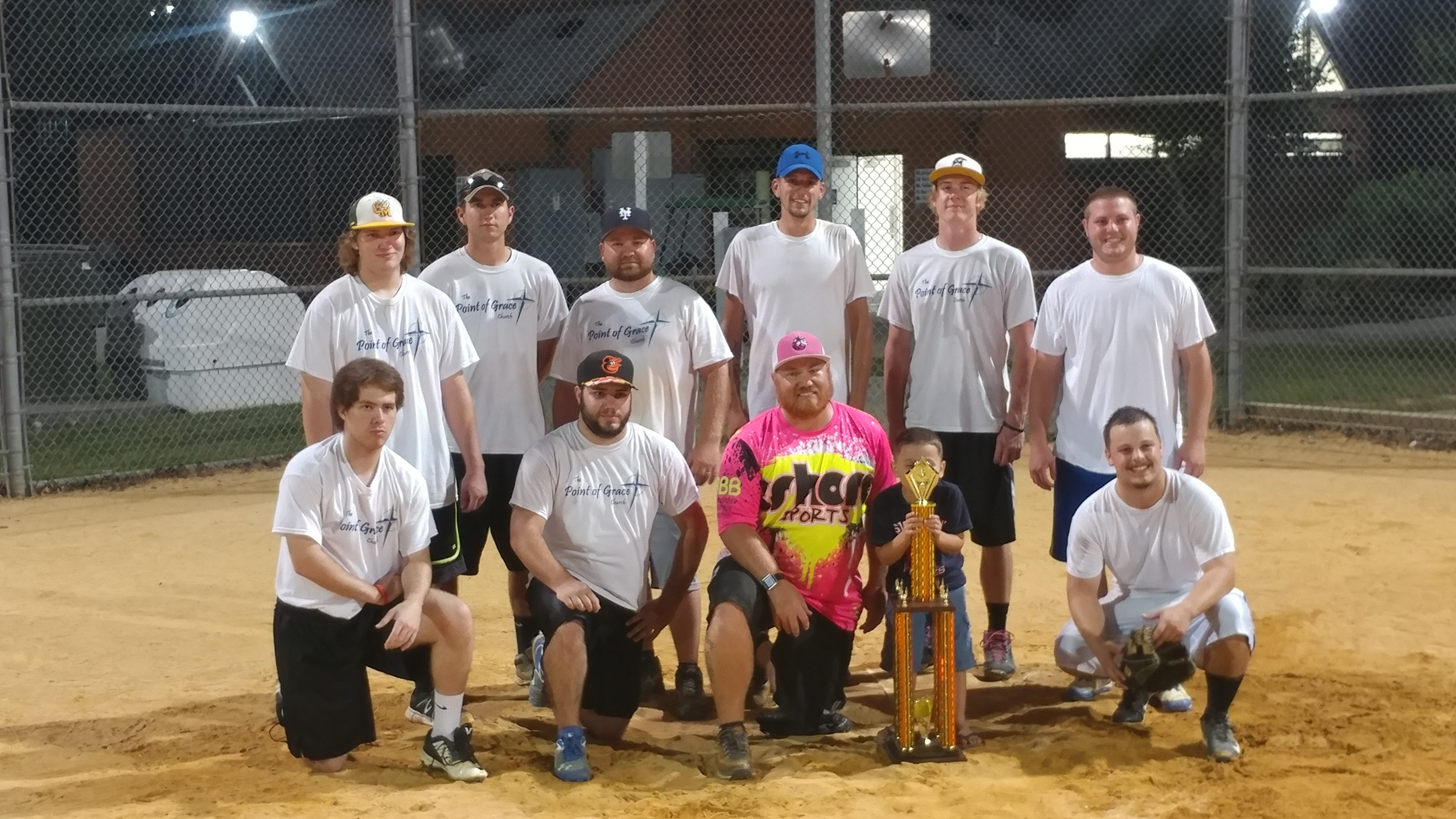 image of point of grace church soft ball team