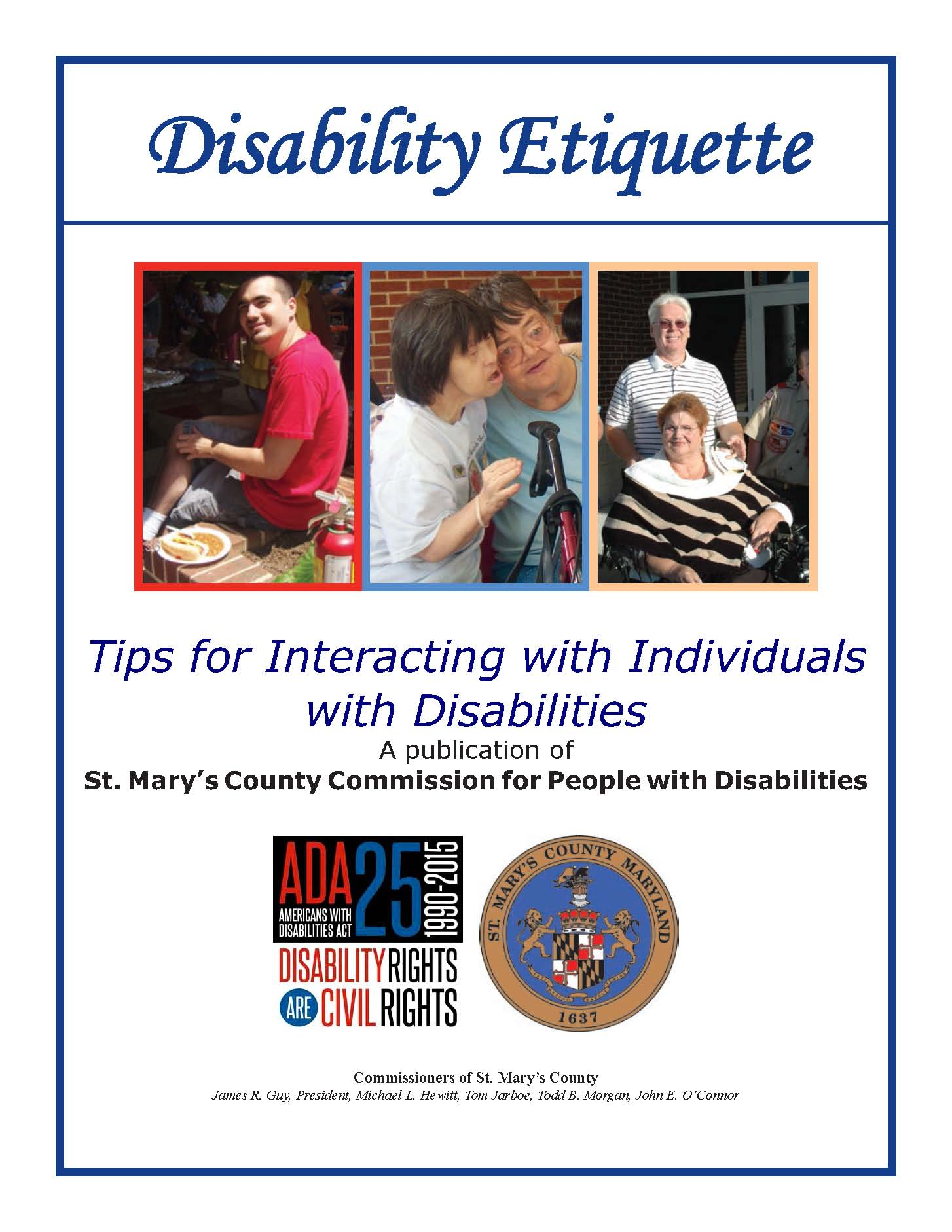 image of disability guide
