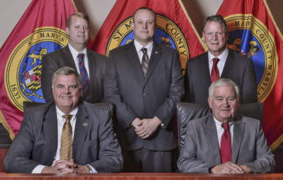image of saint marys county commissioners