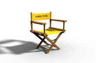 image of directors chair