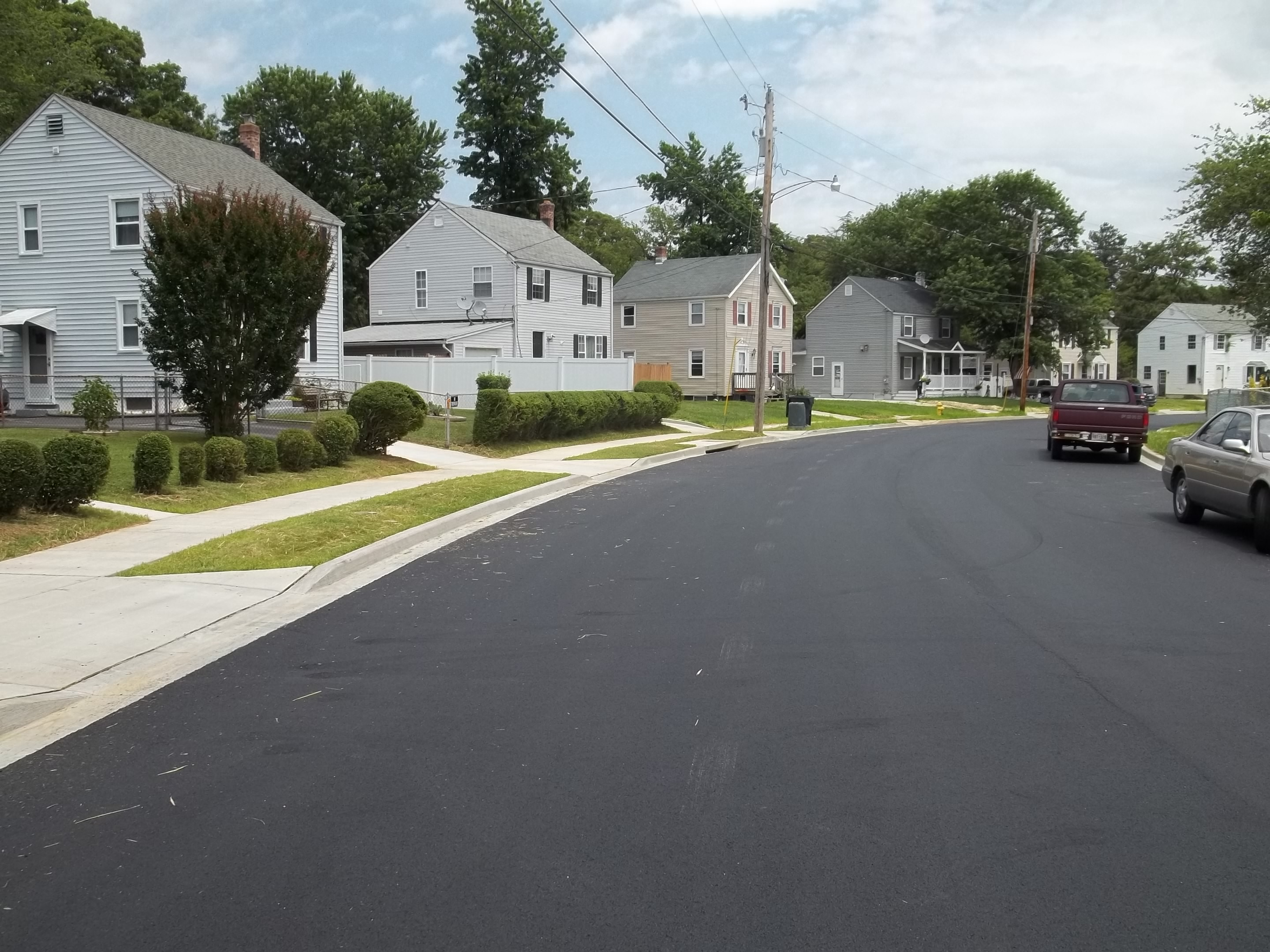 image of revitalization project phase 2 roadway