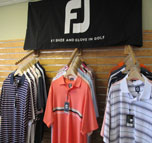 image of brand name golf polo shirts