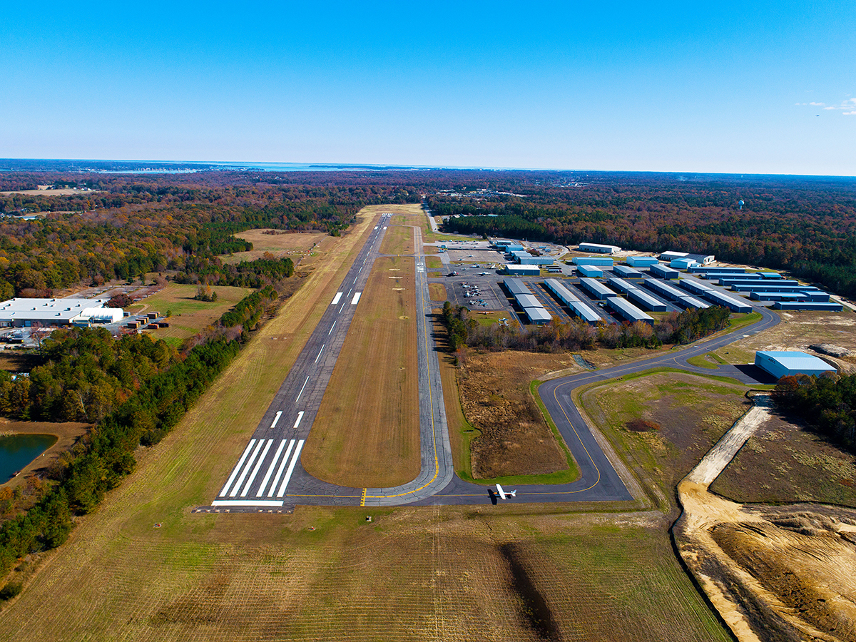 St. Mary's County Airport Construction Update Cover Photo