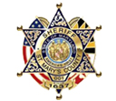 image of saint mary's sheriffs badge click to visit first sheriff website