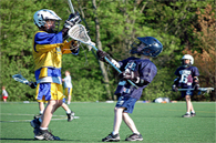 image of children playing lacrosse