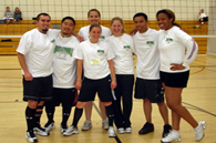 image of adult volley ball team