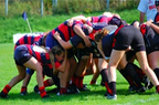 adults playing rugby