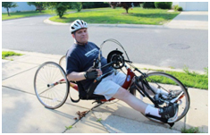 paralympic bicyclist